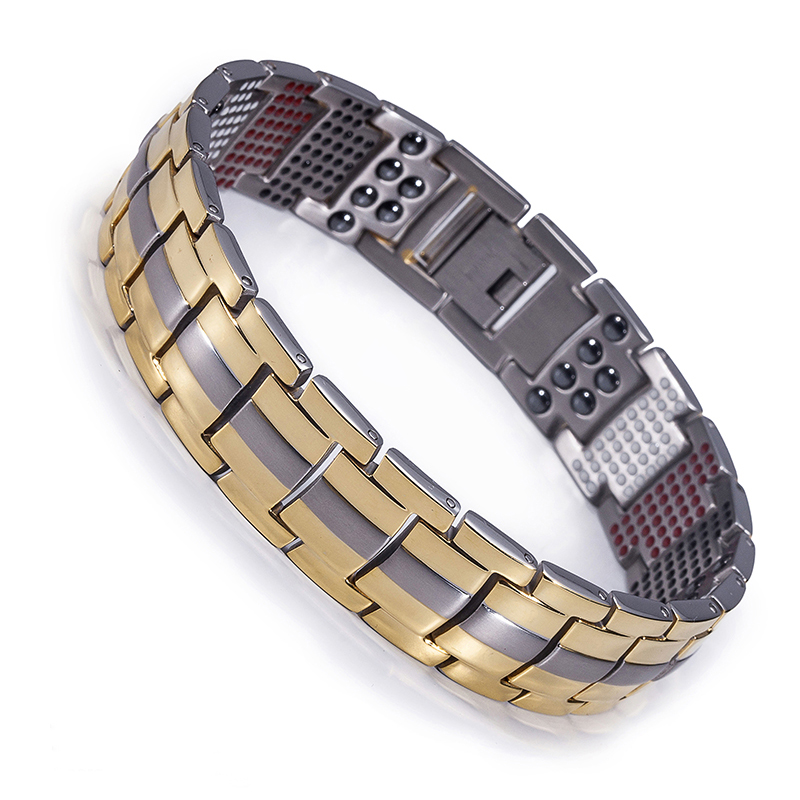 Anium Uni Magnetic Bracelet New Tech 4 In 1 Energy Magnets Negative Ions Far Infrared Rays Fir Germanium Model Br T 111