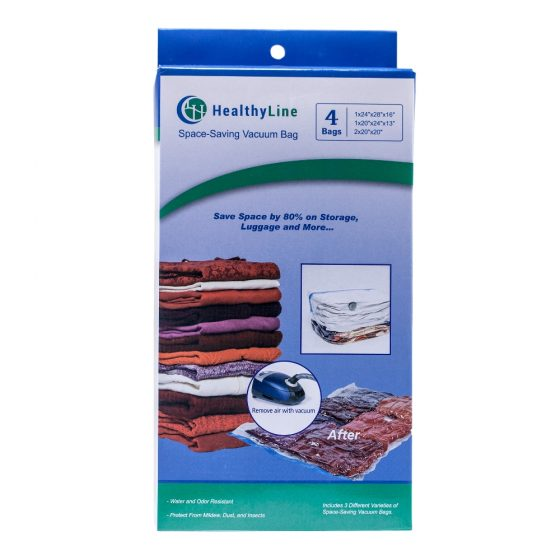 Premium Space Saving Vacuum Storage Bags – 4 pack (2)