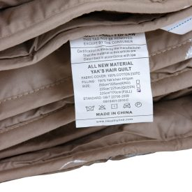 100%-Natural-Yaks-Pure-Wool-Hair-Winter-Comforter-Extra-Weight-Full-Queen-King-450GSM-Down-Proof-Cotton-300TC (7)