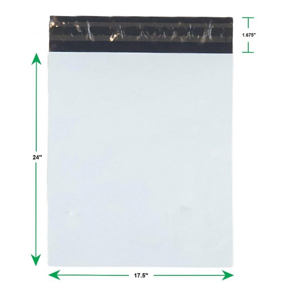 White Poly Mailer Envelopes Shipping Bags with Self Adhesive Waterproof and Tear Resistant Postal Bags (1)