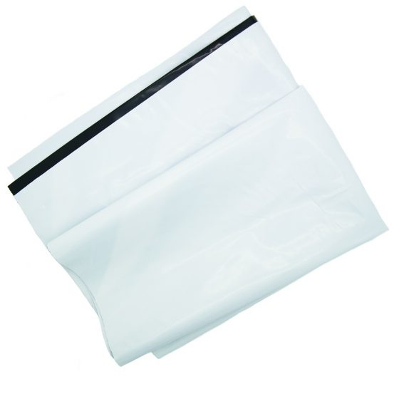 White Poly Mailer Envelopes Shipping Bags with Self Adhesive, Waterproof and Tear Resistant Postal Bags (14)