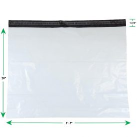 White Poly Mailer Envelopes Shipping Bags with Self Adhesive Waterproof and Tear Resistant Postal Bags (2)