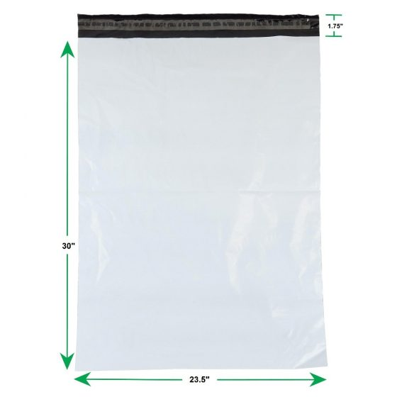 White Poly Mailer Envelopes Shipping Bags with Self Adhesive Waterproof and Tear Resistant Postal Bags (4)