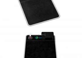 Portable Heated Gemstone Pad - Flat Model with Power Bank InfraMat Pro®