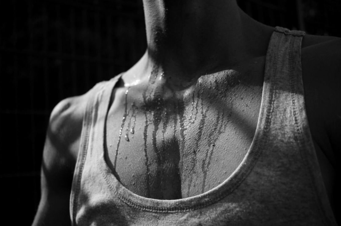 Sweating is a great way to rid the body of toxins.