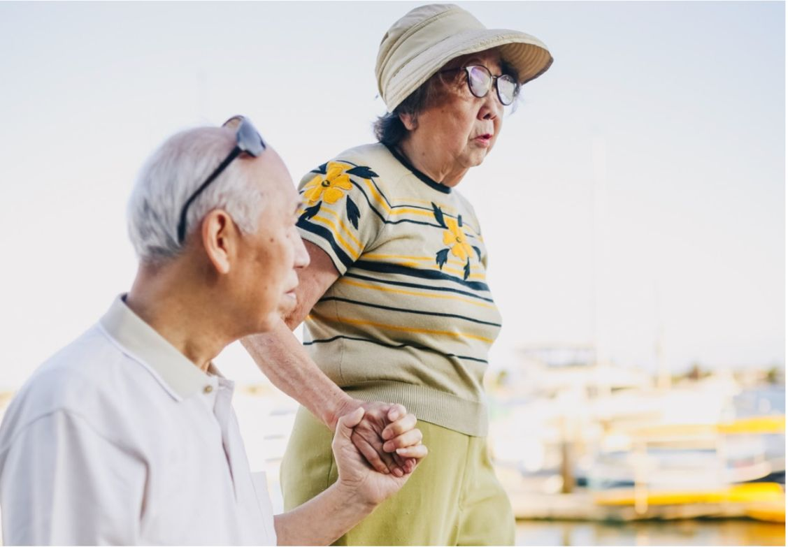 More likely to occur in the elderly, Parkinson's disease generally progresses in stages